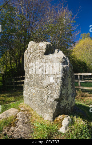 The Eagle Stone, Strathpeffer, Ross-shire, Scotland.