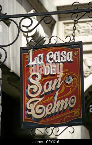 Argentina, Buenos Aires, San Telmo District, antique dealer's territory - Stock Photo