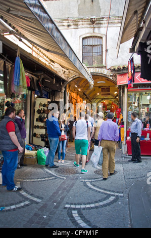 Entry of the Grand Bazaar in Istanbul - Turkey - Stock Photo