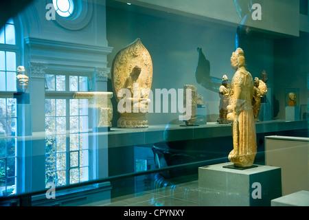 France, Paris, Musee Cernuschi, Museum of Asian Art - Stock Photo