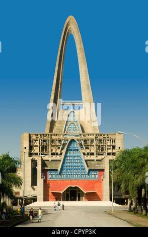 Dominican Republic, La Altagracia Province, Higuey, the Basilica - Stock Photo