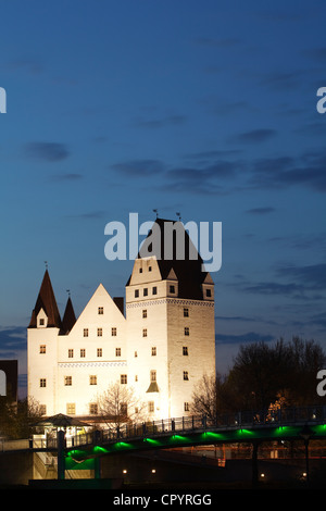 Neues Schloss, new castle, Ingolstadt, Bavaria, Germany, Europe - Stock Photo