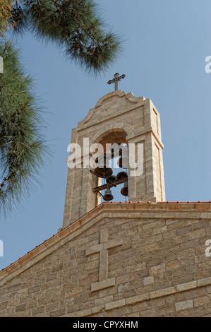 St. George Church in Madaba, Jordan, Middle East, Asia - Stock Photo