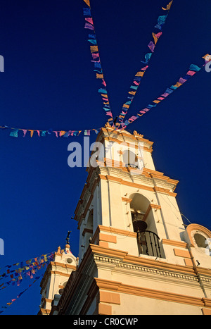 Mexico, Guerrero State, Taxco, church - Stock Photo