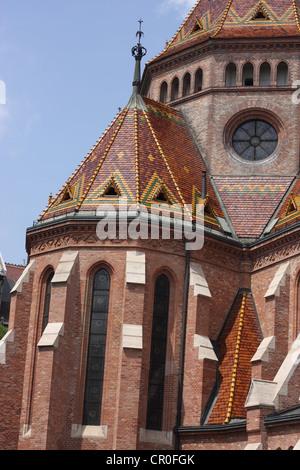 Inner City Calvinist Church Budapest. - Stock Photo