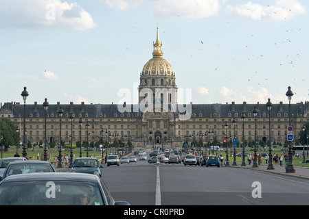 Les Invalides - Stock Photo