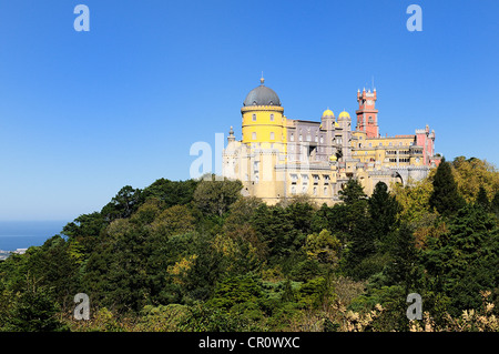 Pena National Palace in Sintra, Portugal (Palacio Nacional da Pena) - Stock Photo