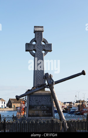 Fisher's Cross at the fishing port of Howth, near Dublin, County Fingal, Leinster, Ireland, Europe, PublicGround - Stock Photo