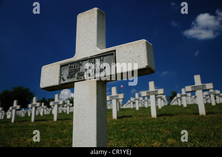 French War Graves In National Cemetery Craonelle Chemin Des Dames