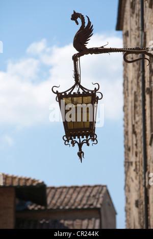 Close up of ornate streetlight - Stock Photo