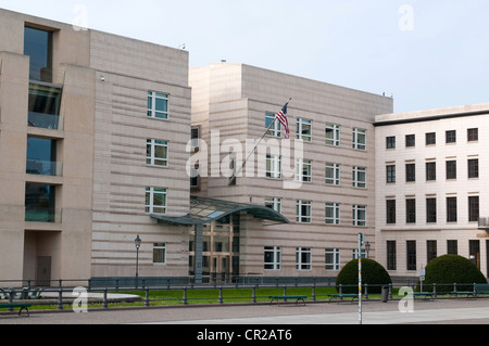 Embassy of United States of America in Berlin, Germany - Stock Photo