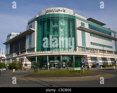 John Lewis West Quay Shopping Centre Southampton Hampshire England UK - Stock Photo