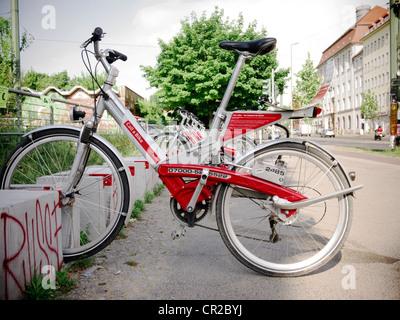 Call a bike, Berlin - Stock Photo