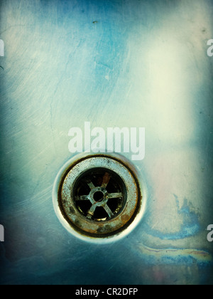 Plug hole - Stock Photo