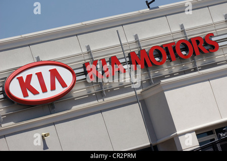 KIA Motors - Stock Photo