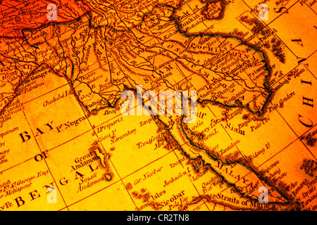 Asia old map stock photo 50288840 alamy 3d world map old map of south east asia focused on the word siam includes malaysia burma publicscrutiny Gallery