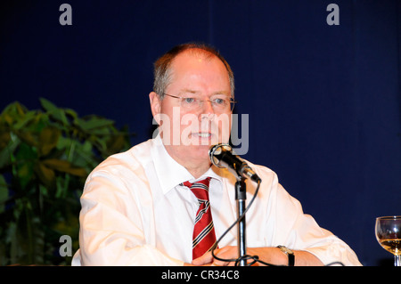 Peer Steinbrueck, Federal Minister of Finance, SPD, social democratic party, Germany, Europe - Stock Photo