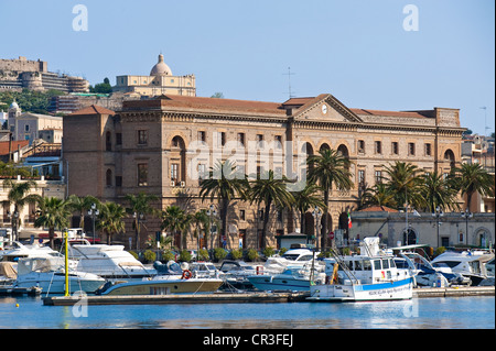 Italy, Sicily, Messina Province, Milazzo, marina, boarding to the Aeolian islands on the North of the island - Stock Photo