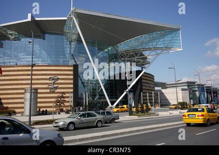 Turkey, suburbs of Istanbul, Istinye Park shopping center - Stock Photo