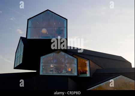 Vitra Design Museum, Weil am Rhein, Baden-Wuerttemberg, Germany, Europe - Stock Photo