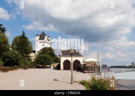 Electoral castle Eltville, Eltville am Rhein, Hesse, Germany, Europe - Stock Photo