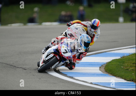 carlos checa on the ducati, WSBK 2012 - Stock Photo