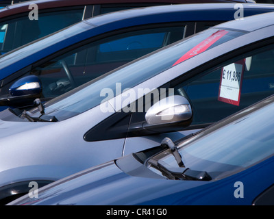 Motor Cars For Sale At Car Showroom Garage Stacked In Tower Stock Photo Royalty Free Image
