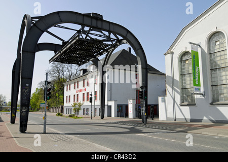 Former zinc factory Altenberg, LVR, Rhineland Industrial Museum, Route of Industrial Heritage, Oberhausen, Ruhrgebiet - Stock Photo