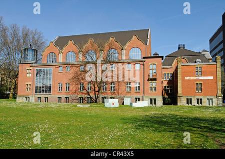 Museum of German Inland Navigation, Duisburg-Ruhrort, Duisburg, Ruhrgebiet region, North Rhine-Westphalia, Germany, - Stock Photo