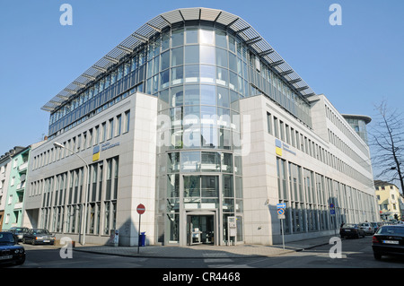 German pension insurance, Rhineland, Duisburg, Ruhrgebiet region, North Rhine-Westphalia, Germany, Europe - Stock Photo