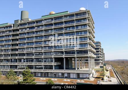 Ruhr-Universitaet university, Bochum, Ruhrgebiet area, North Rhine-Westphalia, Germany, Europe - Stock Photo