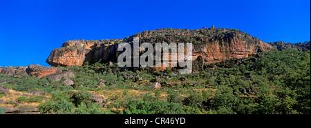 Australia, Northern Territory, Kakadu National Park, UNESCO World Heritage, Ubbir Rock - Stock Photo