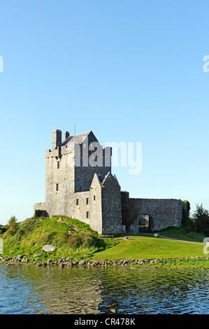 Dunguaire Castle, Kinvarra, County Galway, Ireland, Europe - Stock Photo