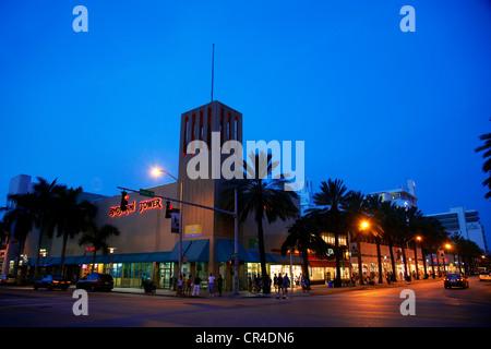United States, Florida, Miami, Miami beach, Lincoln road - Stock Photo
