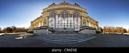 Gloriette building in the palace gardens Schloss Schoenbrunn palace, UNESCO World Heritage Site, Vienna, Austria, - Stock Photo