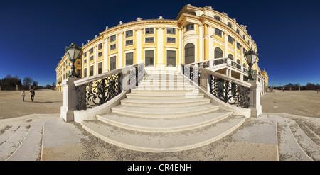Schloss Schoenbrunn palace, UNESCO World Heritage Site, Vienna, Austria, Europe - Stock Photo