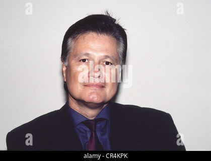 Knopp, Guido, * 29.1.1948, German journalist, publicist, portrait, 2000, Additional-Rights-Clearances-NA - Stock Photo
