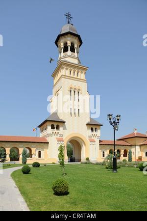 Coronation Cathedral of the Romanian Orthodox Church, Alba Julia, Karlsburg, Romania, Europe - Stock Photo