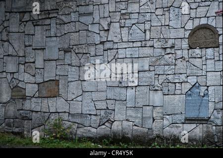 Jewish cemetery, Kazimierz Jewish Quarter, Krakow, Malopolska, Poland, Europe, PublicGround - Stock Photo