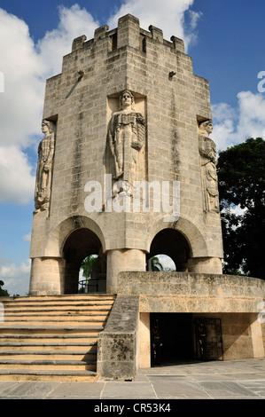 Mausoleum of the poet and Cuban national hero José Martí, Cementerio de Santa Ifigenia cemetary, Santiago de Cuba, - Stock Photo
