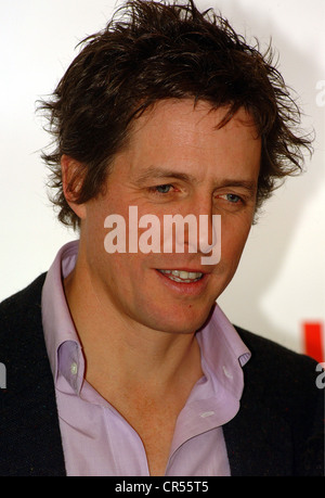 Grant, Hugh, * 9.9.1960, British actor, portrait, Germany premiere of the film 'Love Actually', Munich, 14.11.2003, - Stock Photo