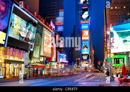TImes Square in New York, New York, USA. - Stock Photo