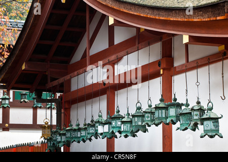 Japan, Honshu Island, Kinki Region, city of Nara, Historic Monuments of Ancient Nara UNESCO World Heritage, the - Stock Photo