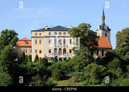 Schloss Ettersburg Castle near Weimar, UNESCO World Heritage Site, Classical Weimar, Thuringia, Germany, Europe - Stock Photo