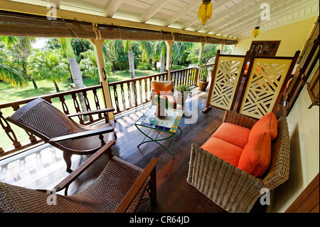 Mauritius, South Coast, Grand Port District, Mahebourg, Jardin de ...
