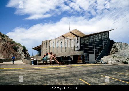 Dinosaur Quarry Visitors Center, Dinosaur National Monument, Utah, USA - Stock Photo