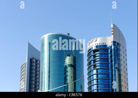 Financial Centre in Doha, Qatar, Arabian Peninsula, Persian Gulf, Middle East, Asia - Stock Photo