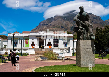 South Africa, Western Cape, Cape Town, the Company's Garden, the Iziko South African National Gallery - Stock Photo