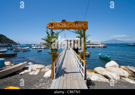 Bagni s anna marina piccola sorrento sorrento peninsula gulf of stock photo 48708939 alamy - Bagni sant anna sorrento ...