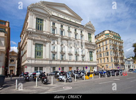 Theatre, opera, nice, Alpes-Maritimes, Cote d'Azur, Southern France, France, Europe - Stock Photo